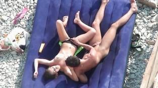 Порно на пляже подглядывание — 7